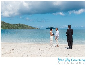 a white sand beach wedding venue